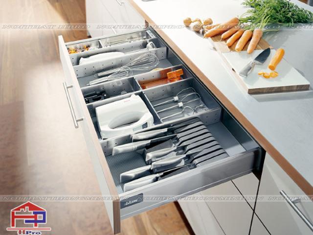 Khu vực riêng dành cho công việc chuẩn bị đồ nấu nướng
