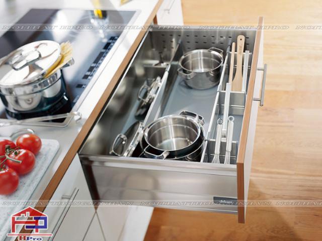 Khu vực nấu nướng quan trọng nhất trong bộ tủ bếp gia đình