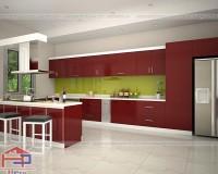Chọn mẫu tủ bếp phù hợp khi thiết kế nhà bếp mới