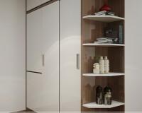 Tủ quần áo cánh lùa nhỏ – giải pháp hoàn hảo cho căn nhà chật hẹp